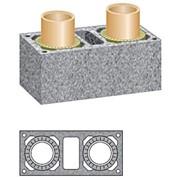 Керамический дымоход Schiedel Uni комб. с вент. каналом D140/160+V L4-12 м фото