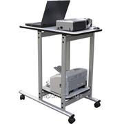 Проекционный столик UNIVERSAL 80x46/40x40 ST007 фото