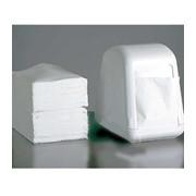 Салфетки бумажные, салфетки диспенсерные ALBA Стандарт, настольные, белые, однослойные, 250 листов фото
