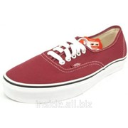 Кеды Vans Era Classic WineRed фото