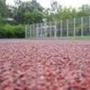 Покрытия спортивные резиновые фото