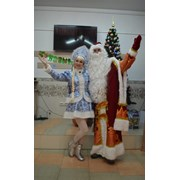 Дед Мороз и Снегурочка в Гомеле. фото