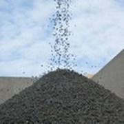Отсев, щебень, песок, керамзит, чернозем, грунт фото