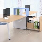 Коллекция мебели для персонала МАТРИКС (2 рабочих места) фото