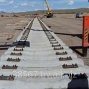 Строительство подъездных железнодорожных путей фото