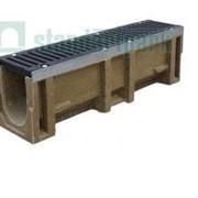 Лоток водоотводный Standartpark CompoMax DN160 с чугунной решеткой Е Винница, Лотки водоотводные в Виннице, Водоотводные системы лотки в Виннице фото