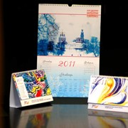 Календари квартальные, перекидные, домики фото