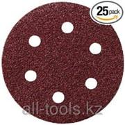 Круг шлифовальный Professional 25 шт. - 150 мм- Р60 Код:624020000 фото