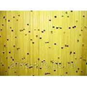 """Бамбуковое полотно, """"береза"""" ламели 15мм, (желтое) фото"""