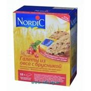 Галета Nordic из овса с брусникой (30шт/уп) фото
