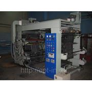 Флексопечатная машина 4-х цветная 1200 мм, SLFG120-4, 2006 г.в. фото