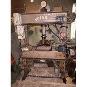 Пресс гидр.40 т.ус. (нагрев.плита) ОКС-1671М 2 1980г. фото