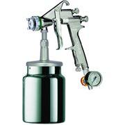 SLIM I HVLP Краскопульт пневматический, сопло 1,7 мм, нижний бачок алюминиевый 1000 мл фото