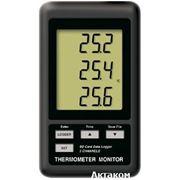 АТЕ-9380 - регистратор температуры трехканальный Актаком фото