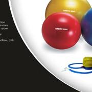 Мяч для гимнастики Anti burst gym ball фото