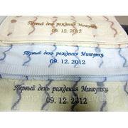 Вышивка на полотенцах,салфетках,фартуках фото