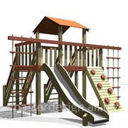 Детские игровые площадки на заказ фото