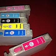 Перезаправляемые картриджи (ПЗК) Epson T0801-T0806 для принтеров P-50/PX-650/659/660/720/820 фото