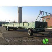 Платформа транспортировки кормов с механизированной разгрузки ПТК-10-3 фото