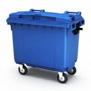 Пластиковый контейнер для мусора ТС-660 фото