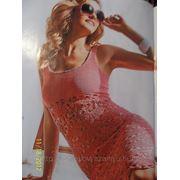 Вязаное платье фото
