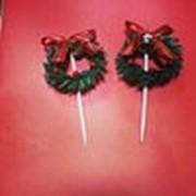 Рождественские венки (для украшений торт) фото