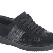 Туфли мужские 161-039, черный фото
