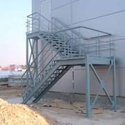Лестницы металлические, Лестницы металлические фото