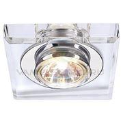 Светильник встраиваемый CRYSTAL I хром/ стекло прозрачное кристаллическое 114920 фото
