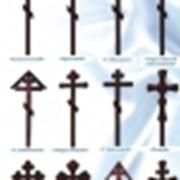 Надгробные кресты фото