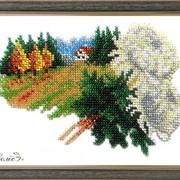 Комплект для вышивки бисером Листопад БС Солес Серия Календарь (12 месяцев) фото