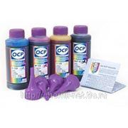 Комплект чернил OCP для BROTHER* принтеров (BKP 45 , Y,М,С 139) 100gr x 4 фото