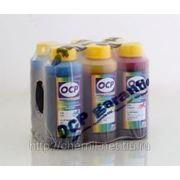 Комплект чернила OCP для картриджей HP* 177 (BK 90, C/M/Y 93, ML/CL 94) 100 gr x 6 фото