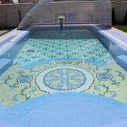 Строительство бассейнов мозайка фото