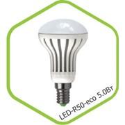 Лампа LED-R63-econom 8 Вт. фото