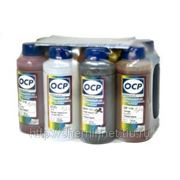 Комплект чернил ОСР для EPSON* R1900 (EGO, BKP110/111, CP110, YP116, RP110, MP110, OP 110) 100gr x 8 фото