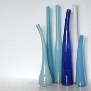Художественные вазы для цветов и сервировки стола фото
