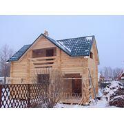 Проекты дом + баня фото фотография