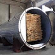 Камерная сушка древесины фото