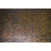 Кожзам обивочный бронзовый фото