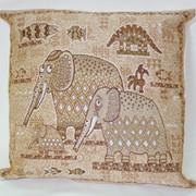 Наволочка гобеленовая Зоопарк-2 слоны фото