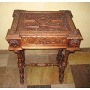 Столик для хранения столовых приборов фото