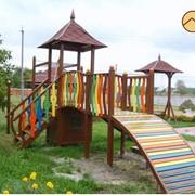 Игровая детская площадка фото