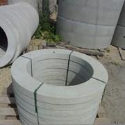 Кольцо бетонное опорное КО-1,5 фото