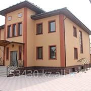 Дом отделаный фасадными панелями ИДЕАЛ фото