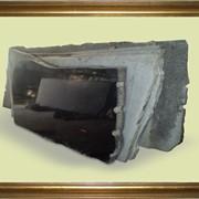 Камень шлифованный габбро