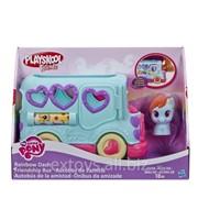 B1912 Автобус дружбы Рейнбоу Дэш My Little Pony Playskool фото