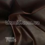 Ткань Кожзам ( коричневый ) 1109 фото