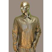 Куртка кожаная Lagerfeld 31482 фото