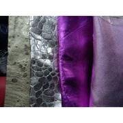 кожа итальянская покрытием « металлик», фото